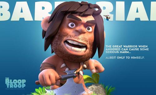 Barbarian intro